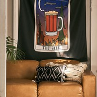 Sage Pizza For Deny Beer Tarot Tapestry | Urban Outfitters