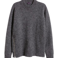H&M - Merino Wool Sweater - Dark