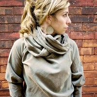 Curl Up With Fall Cowl Neck Sweater | Luulla