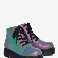 YRU Slayr Glow in the Dark Boot