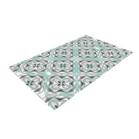 "Miranda Mol ""Winter Pool"" Woven Area Rug"
