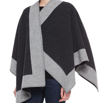 Cupshe Blanket Felted Wool Cape