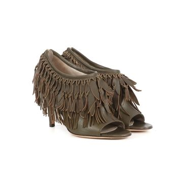 Gianvito Rossi Fringe Pumps