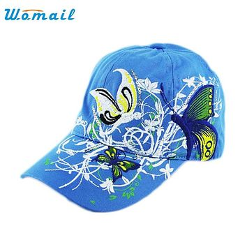 Womail The most Embroidered Baseball Cap Lady Fashion Shopping Duck Tongue Hat Anti Sai Cap