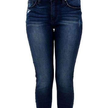 Denim Skinny Jeans, Medium Denim