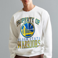 Golden State Warriors Crew Neck Sweatshirt | Urban Outfitters