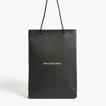 BALENCIAGA Heritage medium grained leather shopper