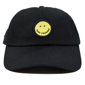 The GFY Dad Hat in Black