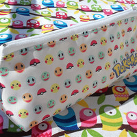 Cute Pokemon Pencil Case Zipper Pouch Bag Pen Box School Anime Pikachu Charmander Bulbasaur Squirtle Pokeball