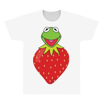 Kermit Strawberry All Over Men's T-shirt
