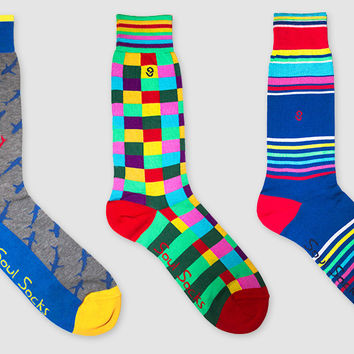 Soul Socks Give Your Office Wear Personality