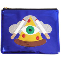 Pizza Illuminati Clutch