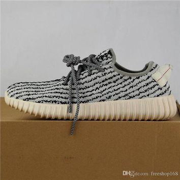 PEAP1 Yeezy 350 Boost 2017 Adidas Fashion Women & Men 350 Boost Black Moon Rock Oxford Tan R