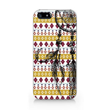 Dream catcher and aztec geometric for iPhone case, iPhone 5 5S case, iPhone 4 4S case, Free shipping M-028