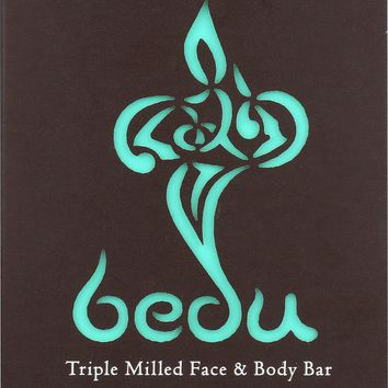 Bedu Face And Body Bar - Camel Milk, African Black Soap - Case Of 6 - 4 Oz.