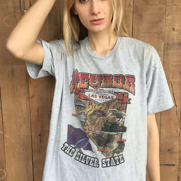 Nevada: The Silver State Vintage Tee