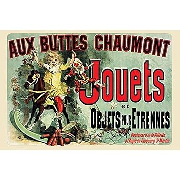 JOUETS POSTER Famous French Vintage Print in Friends TV Show RARE HOT NEW 24x36