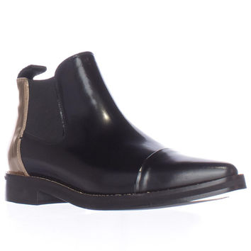Alexander McQueen Redchurchill Pull-On Ankle Boots - Nero