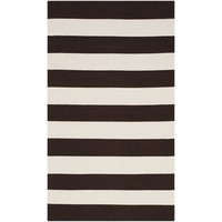 "Meticulously Woven Davenport Casual Striped Area Rug (3'3"" x 5') 