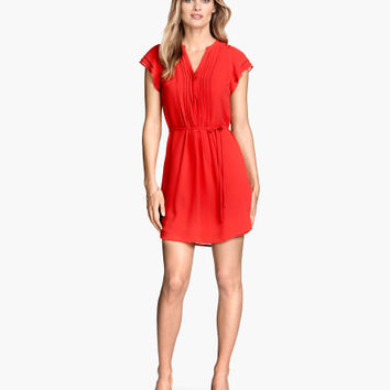 H&M Dress with Butterfly Sleeves $34.95