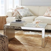 Alexa Mirrored Coffee Table