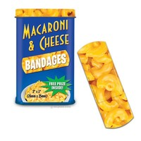 Macaroni & Cheese Bandages - Whimsical & Unique Gift Ideas for the Coolest Gift Givers