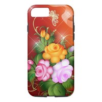 Bright Flowers iPhone 8/7 Case