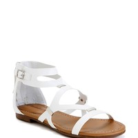 White Beach Party Sandals