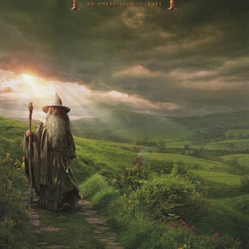The Hobbit Gandalf Movie Poster 22x34