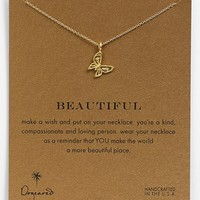 Women's Dogeared 'Reminder - Beautiful' Pendant Necklace