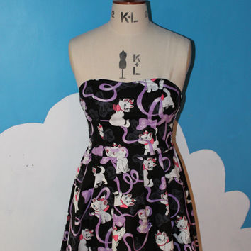 disney marie from aristocats sweet heart dress - all sizes