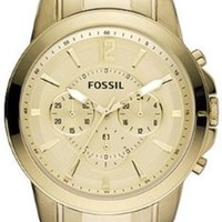 Fossil Men's FS4724 Grant Chronograph Stainless Steel Gold-Tone Watch