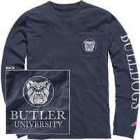 Butler University Bulldogs Long Sleeve T-Shirt
