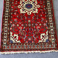 Handmade Vintage Oriental Rug Sesnaest | Style and Decor