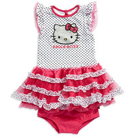 Hello Kitty Baby Girls Hello Kitty Polka Dot Dress
