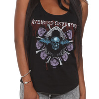 Avenged Sevenfold Roses Girls Tank Top | Hot Topic