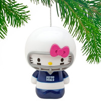 Indianapolis Colts Hello Kitty Ornament - http://www.shareasale.com/m-pr.cfm?merchantID=7124&userID=1042934&productID=555874424 / Indianapolis Colts