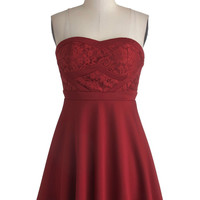 Fashionably Lace Dress | Mod Retro Vintage Dresses | ModCloth.com