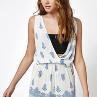 Kendall and Kylie Bare Surplice Romper at PacSun.com