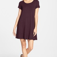 Junior Women's Socialite Knit Swing Dress,