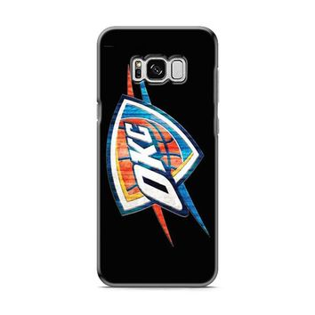 Okc Thunder logo shield Samsung Galaxy S8 | Galaxy S8 Plus case