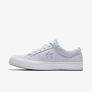 ICIKGQ8 converse one star plush suede water repellent