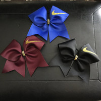 Nike GOLD edition Cheerbows!!! Red, white, neon green, black, maroon and blue