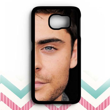 zac efron face (2) Samsung Galaxy S6 Case