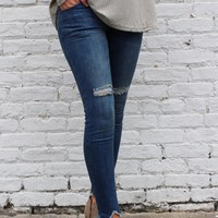 Cool Girl Fringe Bottom Jeans