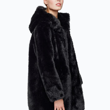 Monki | Jackets & coats | Safira fake fur coat