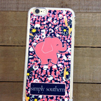 Simply Southern Pink Elephant Case
