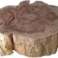 Organic Stump Coffee Table