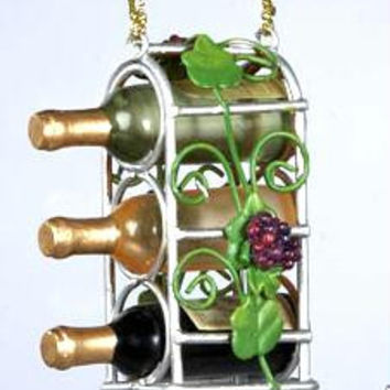 Christmas Ornament - Wine Rack