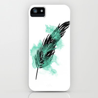 Feather iPhone & iPod Case by whitecrystal